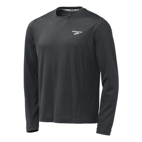 Mens Brooks Versatile Short Sleeve Technical Tops - Anthracite XS