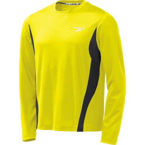 Mens Brooks Versatile Short Sleeve Technical Tops - Nightlife M