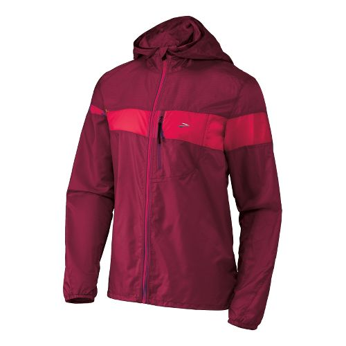 Mens Brooks Nightlife LSD Lite III Running Jackets - Matador/Plasma S