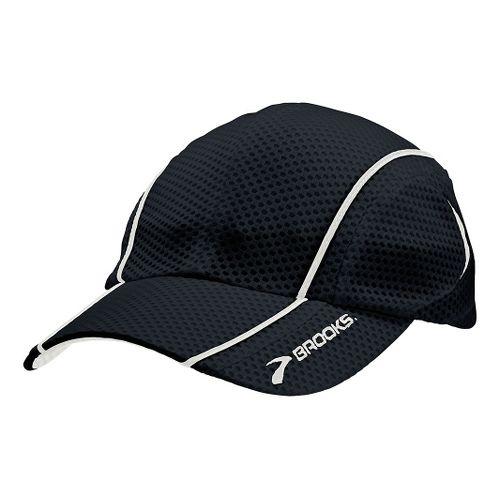 Brooks Mesh Run Cap Headwear - Black