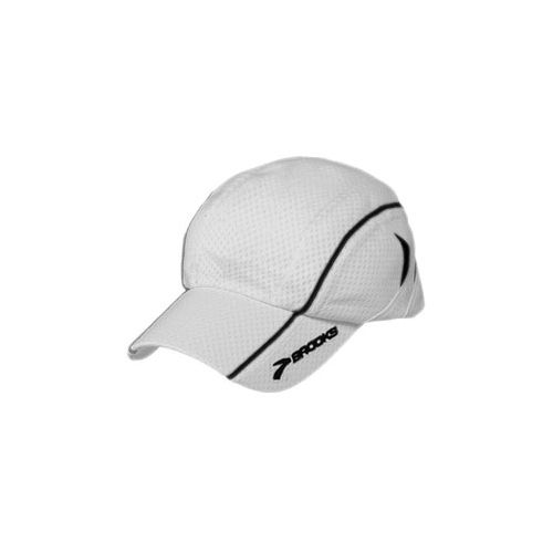 Brooks Mesh Run Cap Headwear - White