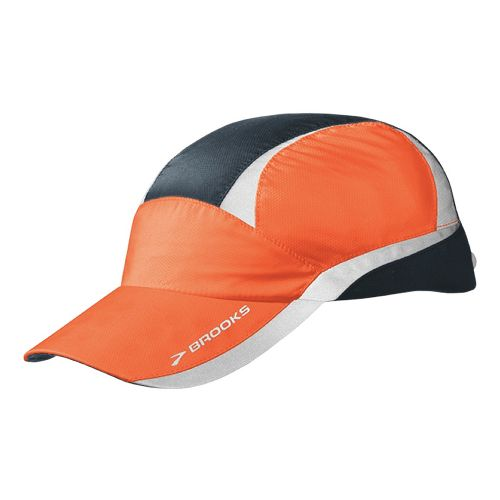 Brooks Nightlife Hat Headwear - Brite Orange/Anthracite