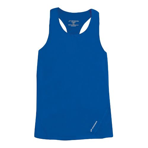 Womens Brooks Race Day Singlets Technical Tops - Electric M