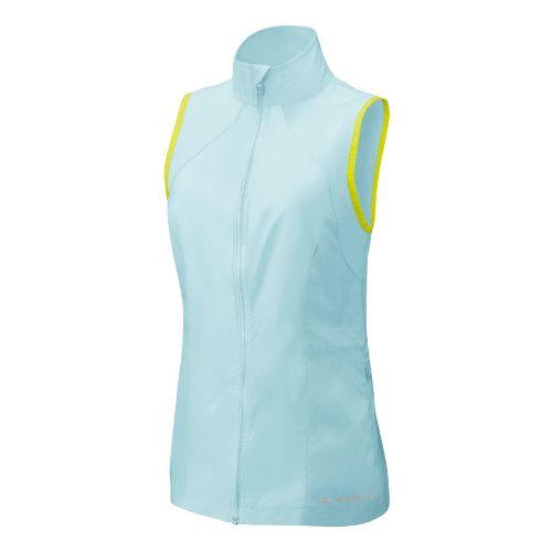 Womens Brooks LSD Lite Vest Running Vests - Sea Foam/Nightlife L
