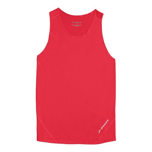 Mens Brooks Race Day Singlets Technical Tops - Americana L