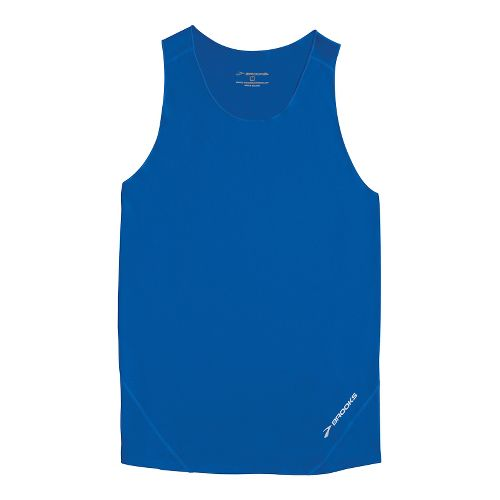 Mens Brooks Race Day Singlets Technical Tops - Electric L