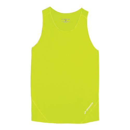 Mens Brooks Race Day Singlets Technical Tops - Nightlife XL