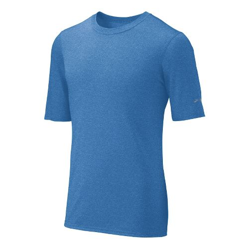 Mens Brooks EZ T III Short Sleeve Technical Tops - Galaxy XS