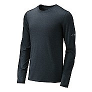 Mens Brooks EZ T III Long Sleeve No Zip Technical Tops