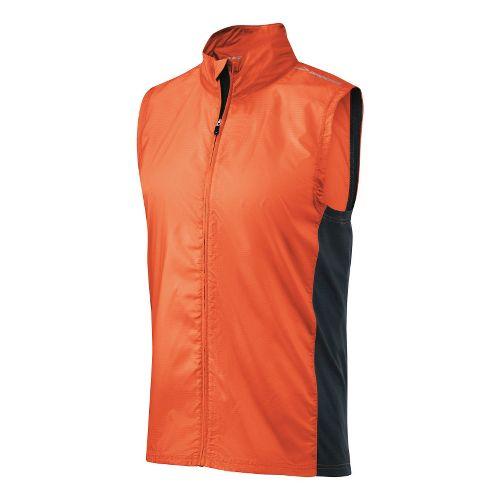 Mens Brooks LSD Lite Running Vests - Brite Orange/Anthracite L