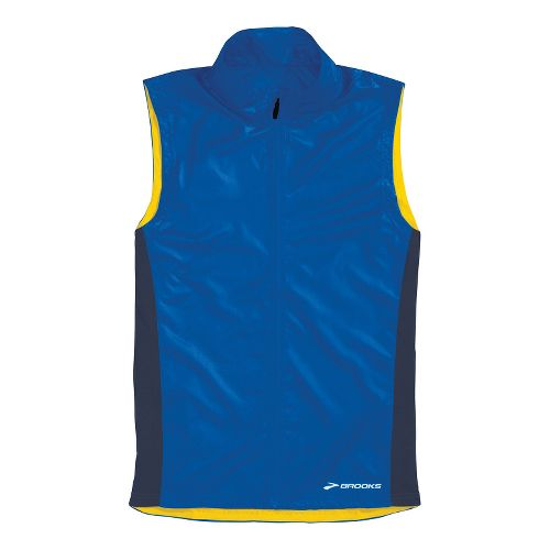 Mens Brooks LSD Lite Running Vests - Electric/Midnight XXL