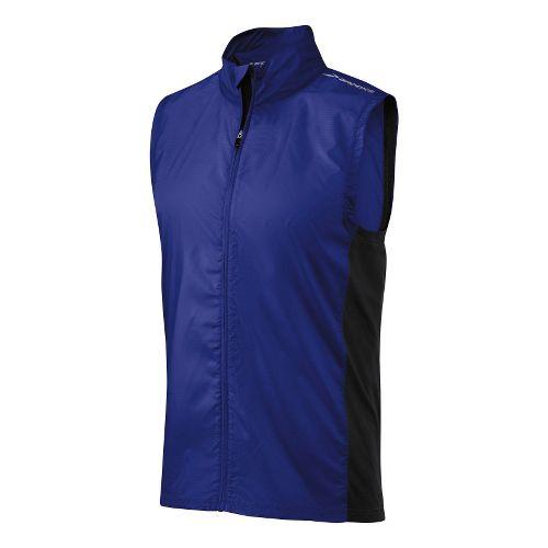 Mens Brooks LSD Lite Running Vests - Ultra Marine/Black XL