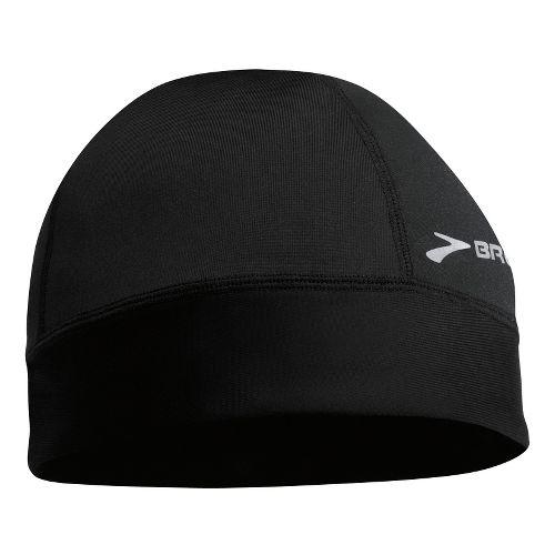 Mens Brooks Breakaway Beanie Headwear - Black