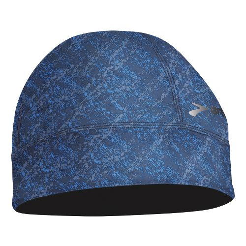 Mens Brooks Breakaway Beanie Headwear - Midnight Splatter Print