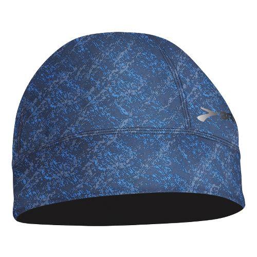 Mens Brooks Breakaway Beanie Headwear - Midnight Splatter Print