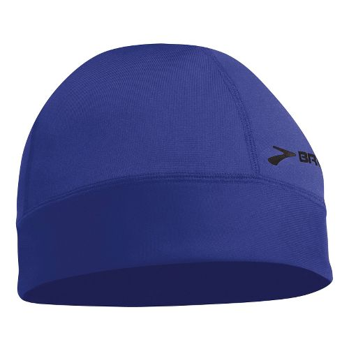 Mens Brooks Breakaway Beanie Headwear - Ultra Marine/Black