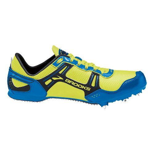 Mens Brooks PR MD 46.61 Racing Shoe - Electric Blue/Nightlife 8.5