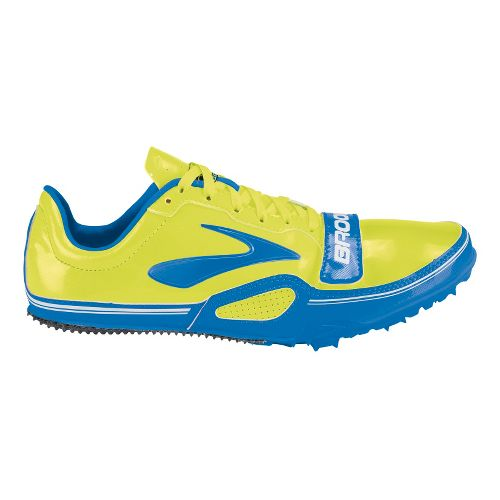 Mens Brooks PR Sprint 10.45 Racing Shoe - Electric Blue/Nightlife 11.5