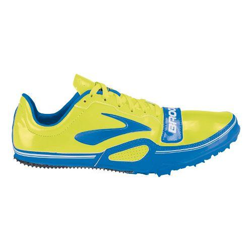 Mens Brooks PR Sprint 10.45 Racing Shoe - Electric Blue/Nightlife 5