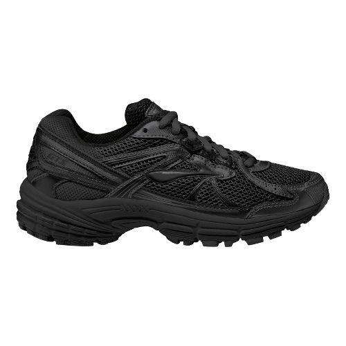 Kids Brooks Kids Adrenaline GTS 13 Running Shoe - Black/Pavement 5.5