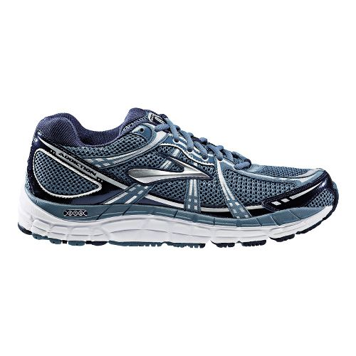 Mens Brooks Addiction 11 Running Shoe - Storm/Peacoat 12