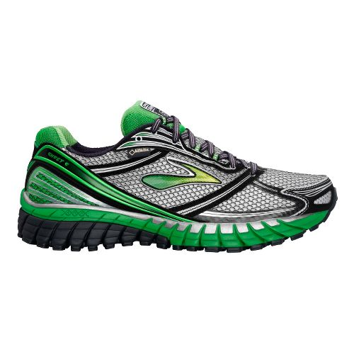 Mens Brooks Ghost 6 GTX Running Shoe - Anthracite/Black 10.5