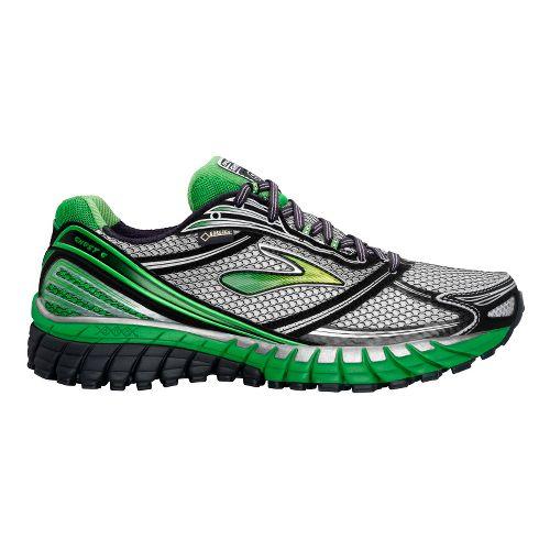 Mens Brooks Ghost 6 GTX Running Shoe - Anthracite/Black 8