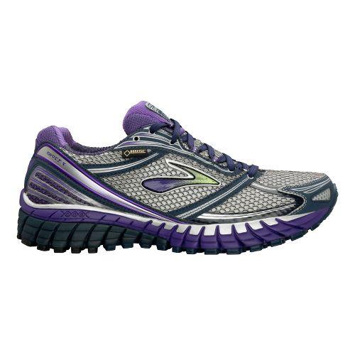 Womens Brooks Ghost 6 GTX Running Shoe - Midnight/Ultra Violet 9