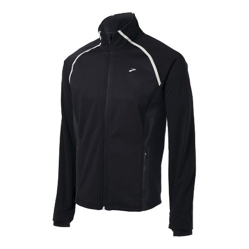 Mens Brooks Utopia Softshell II Running Jackets - Black M