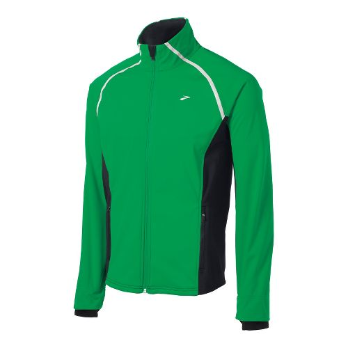 Mens Brooks Utopia Softshell II Running Jackets - Fern/Black XL
