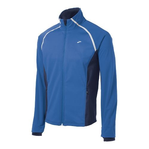 Mens Brooks Utopia Softshell II Running Jackets - Galaxy/Midnight M