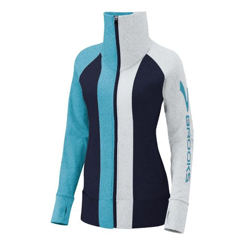 Womens Brooks Glycerin II Running Jackets - Midnight/Frost XL