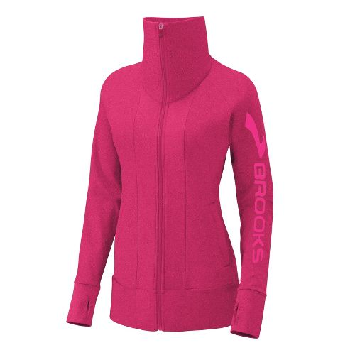 Womens Brooks Glycerin II Running Jackets - Pomegranate XL