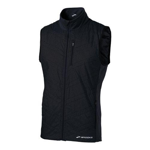 Mens Brooks Adapt Running Vests - Black L
