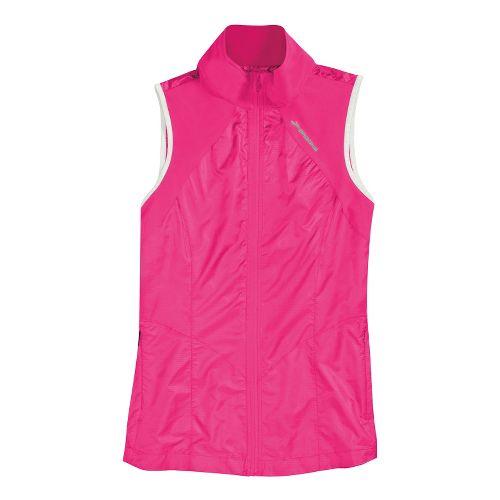 Womens Brooks LSD Lite Running Vests - Brite Pink XL