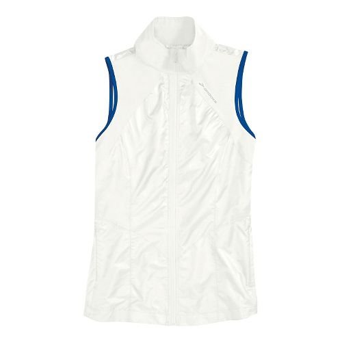 Womens Brooks LSD Lite Running Vests - White/Electric Digi Print L