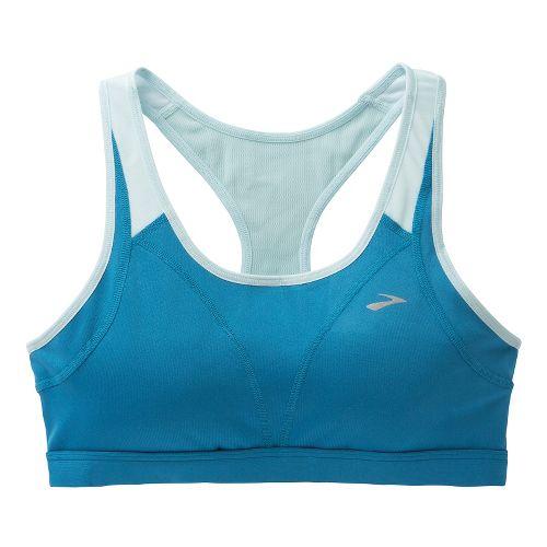 Womens Brooks Versatile Sports Bras - Aurora/Breeze XL