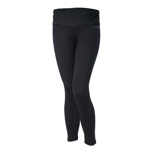 Womens Brooks Infiniti III Fitted Tights - Black S