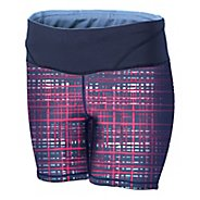 "Womens Brooks Infiniti 6"" Tight III Fitted Shorts"