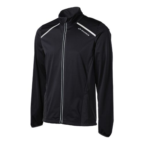Mens Brooks Infiniti IV Running Jackets - Black S