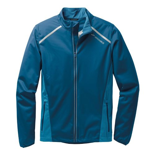 Mens Brooks Infiniti IV Running Jackets - Poseidon/Baltic XL