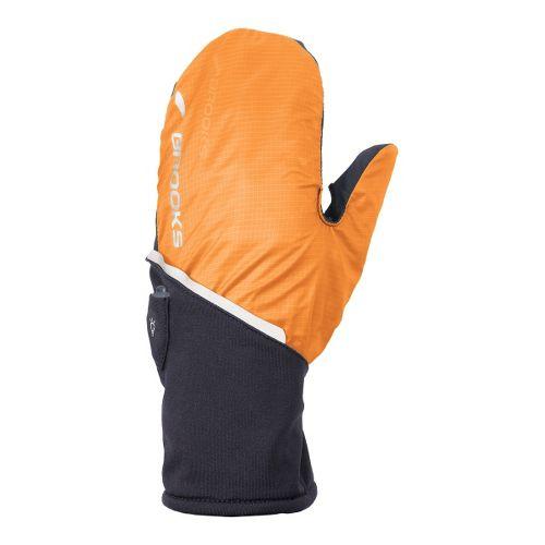 Brooks Adapt Glove II Handwear - Anthracite/Brite Orange M