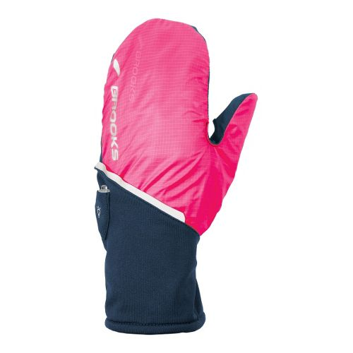 Brooks Adapt Glove II Handwear - Midnight/Brite Pink S