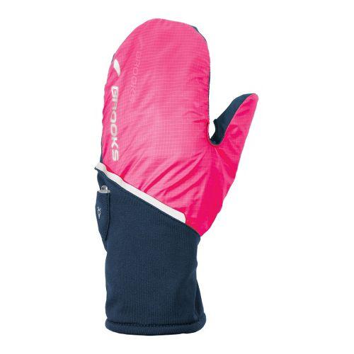 Brooks Adapt Glove II Handwear - Midnight/Brite Pink S