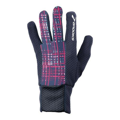 Brooks Pulse Lite Glove II Handwear - Midnight Hatch L
