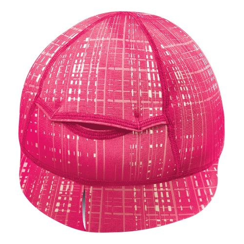 Womens Brooks Breakaway Beanie Headwear - Brite Pink Hatch