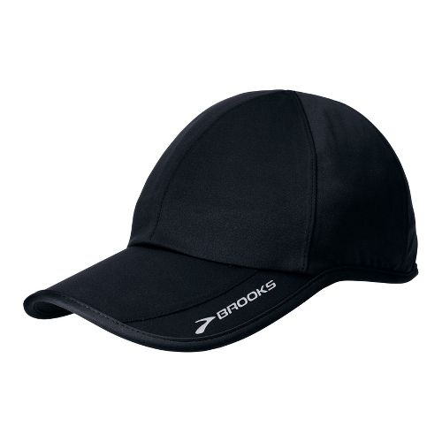 Brooks Speed Play Hat Headwear - Black
