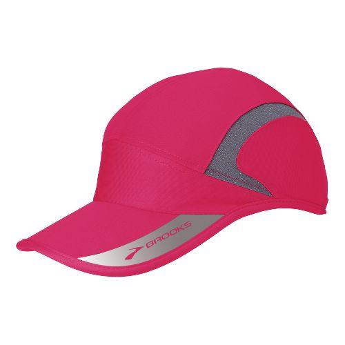 Brooks HVAC Mesh Hat Headwear - Pomegranate