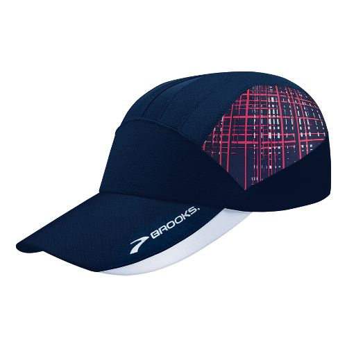 Brooks Printed Mesh Hat Headwear - Midnight/Midnight Hatch