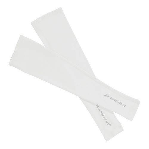 Brooks Race Day Armwarmer Handwear - White XL/XXL